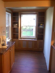 cleveland cabinets built in